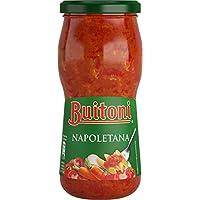 Buitoni Salsa De Tomate Napolitana, Frasco - Paquete de 12 x 400 g - Total: 4.8 kg