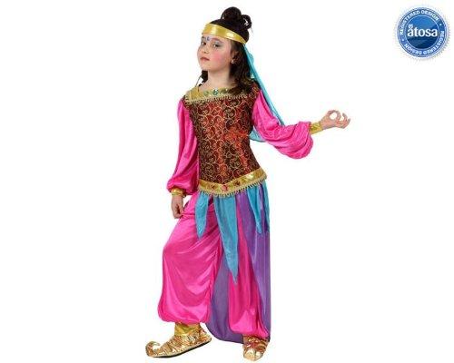 Fliegender Teppich Kostüm - Prezer Orient Dancer Arabische Tänzerin Kinderkostüm