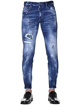 Dsquared2 Hombre S71LB0454S30342470 Azul Algodon Jeans