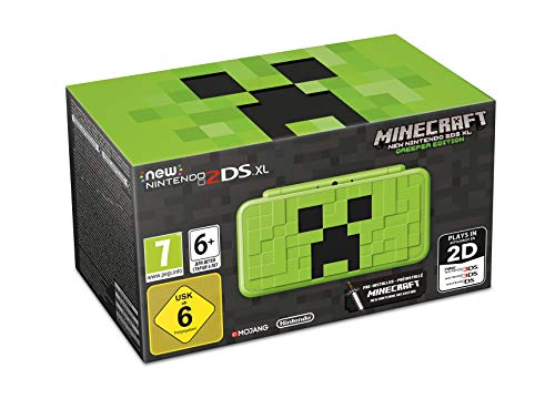 New 2DS XL Minecraft Edition + Minecraft (preinstalado)