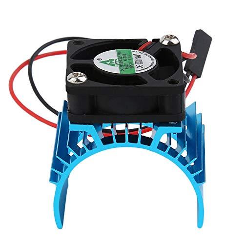 Panamami Durable Brushless Kühlkörper Kühler und Lüfter Kühlung Aluminium 550 540 3650 Größe Spüle Abdeckung Elektromotor für RC HSP-Modell - Rc-brushless-elektromotoren