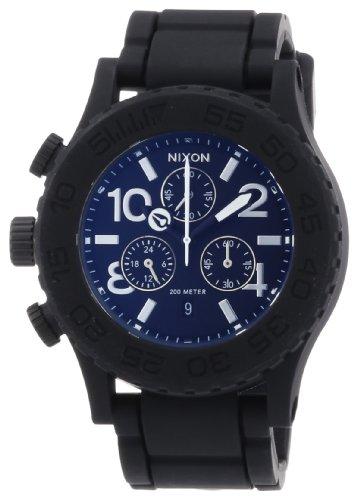 nixon-the-rubber-42-20-chrono-black-orologio-da-polso-uomo