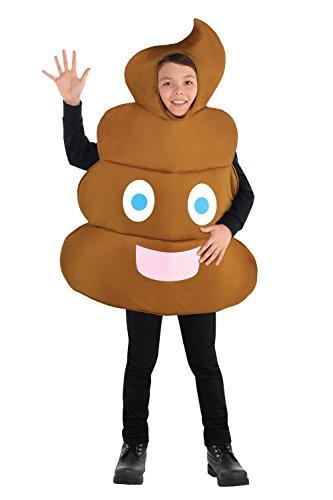 Scheiße Kostüm - Emoji -Poop- Kinderkostüm