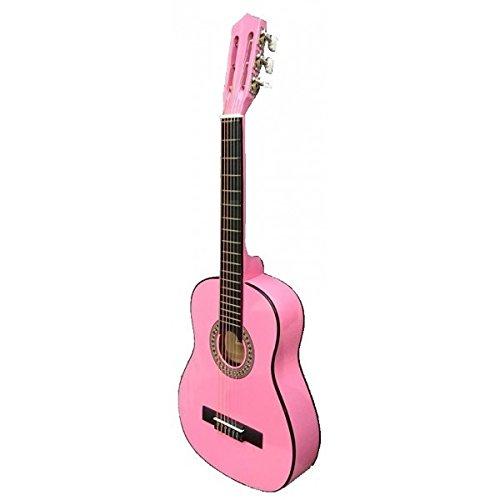 GUITARRA CLASICA INFANTIL - Rocio (Cadete C6N) 1/4 (75 Cm.) Rosa (Fabricado en China)