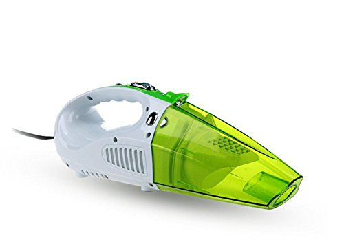 Akkusauger,Auto Staubsauger nass / trocken 12V 80W Auto Vakuum, Reifen Inflator, Reifen Druckmessgerät & Led Licht mit Carry (Nass-trocken-vakuum-gebläse)