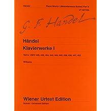 Sämtliche Klavierwerke: Verschiedene Suiten. Nach Autograf, Abschriften und Drucken. Band 1b. Klavier. (Wiener Urtext Edition)
