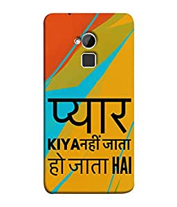 PrintVisa Designer Back Case Cover for HTC One Max :: HTC One Max Dual SIM (Hindi quote Sweet Lines Lovely Beautiful)