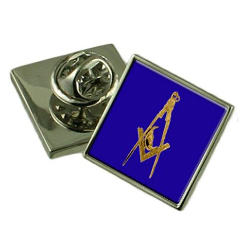 Blau Silber 925 Junior Diakon Abzeichen Ehrennadel graviert Personalisierte Box ()
