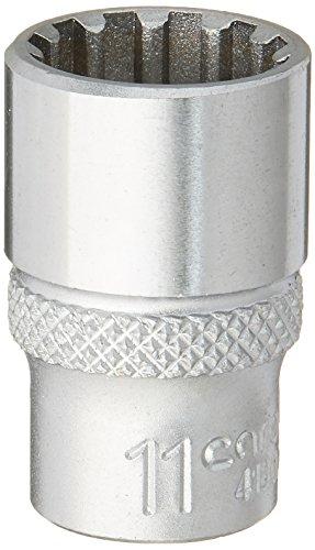 CAROLUS 4180.110 Steckschlüsseleinsatz 1/4″ Spline 11 mm
