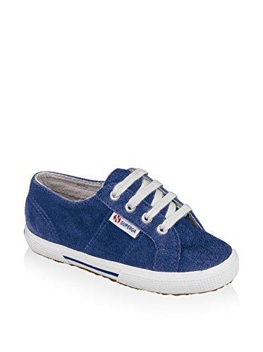 Superga 2950 Suej Lacets, Unisex - Kinder Sneaker Blue Royal