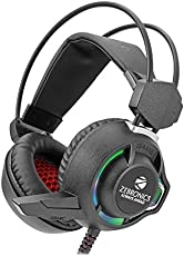 Zebronics Ghost Head Gaming Wired Headphone Headset with Mic