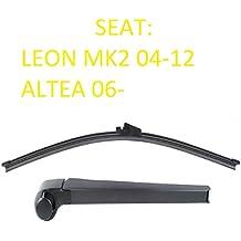 Seat Leon Mk2 MKII Altea Aero trasera limpiaparabrisas hoja Set Inc Cap ...
