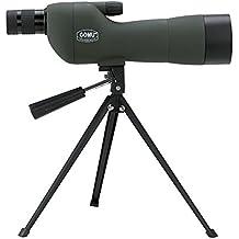 20-60x60 Ampliación de Zoom SE Alcance del Spotting HD Telescopio Impermeable con Trípode para Caza/Observación de Aves