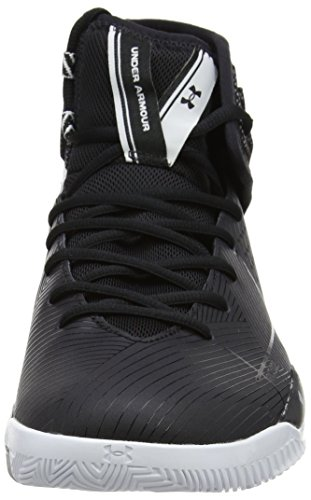 Under Armour Ua Rocket 2, Chaussures de Basketball Homme Noir (Noir 001)
