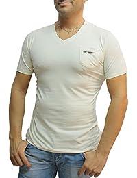 Tee Shirt Homme Col V Et Poche Elyas