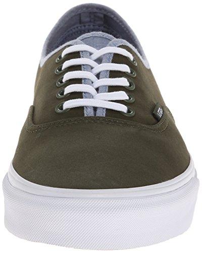 Vans U Authentic , Baskets mode mixte adulte Vert (Rifle Green/Captain's Blue)
