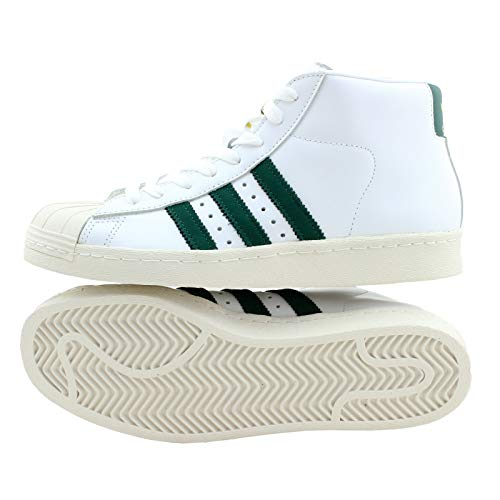 adidas Pro Model 80s Schuhe white/green/black