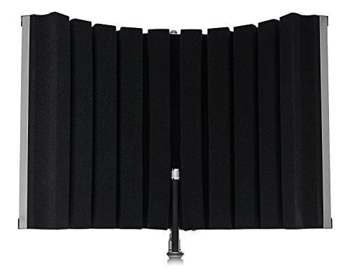 Marantz Professional Sound Shield Compact - portabler faltbarer Reflexionsfilter/ Schallschutz/ Pop-Filter/ Akustik Isolierung für jeden Kondensatormikrofon, zur Montage an Ständer -
