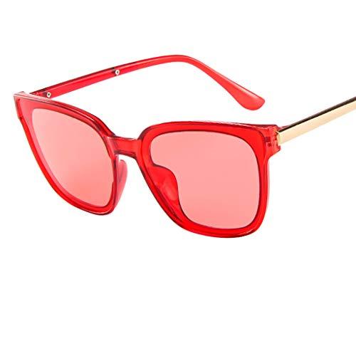 VRTUR Große Retro Sonnenbrillen Marken Metall Rahmen Pilot Platz Spiegel Brillen herren damen...