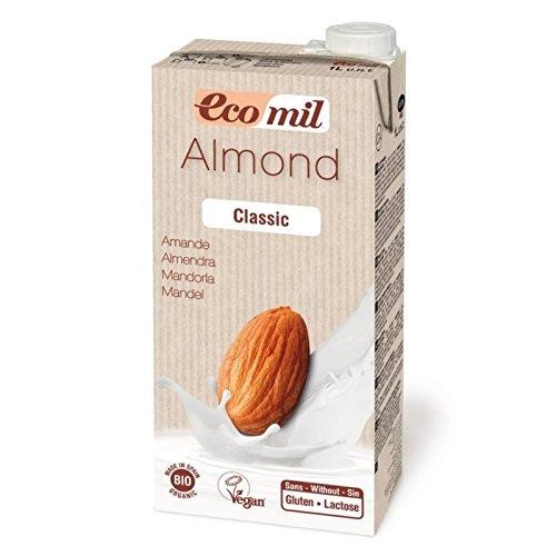 EcoMil Almond Milk Classic – 1 l Mandelmilch Bio, vegan