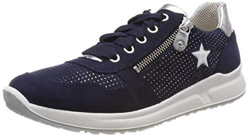 Superfit Mädchen Merida Sneaker, Blau 80, 33 (Merida Schuhe)