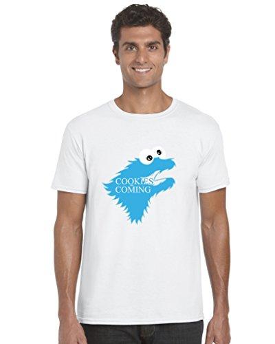 T-Shirt Gr. X-Large, weiß (Sesame Street-outfit)