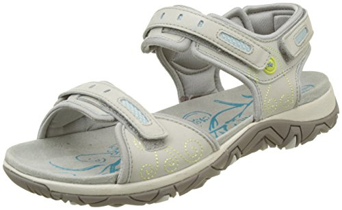 Allrounder by Mephisto  Lagoona, Sandales de sport femme Grau (Cemento/Cemento)