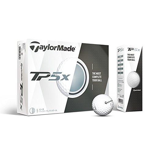 TaylorMade Herren TP5Golf Ball, Weiß, Groß -