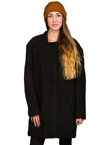 Damen Mantel Mazine Marga Wool Mantel Black