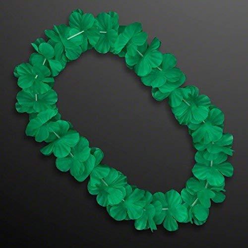 MODEOR Hawaiian Flower Lei Halskette Grün von