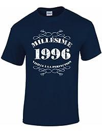 T-Shirt Anniversaire Homme 20 Ans Millésime 1996