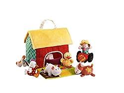 Lilliputiens 87177 - Bauernhof mit Tieren