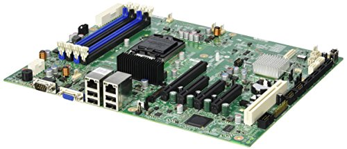 Intel S1200BTLR Server- / Workstation-Mainboard - Server-/Workstation-Motherboards (Server, Intel, DDR3-SDRAM, ATX, Dual, Socket H2 (LGA 1155)) - H2-server