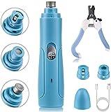 BASEIN Smerigliatrice per Unghie, Lima per Unghie elettrica Ultra silenziosa 50 Db, Caricamento rapido Via USB, per Cani di Piccola e Media Taglia
