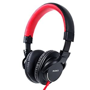 Sony MDR-ZX750AP/R High Performance Stereo Headphones with in-line Mic & Remote