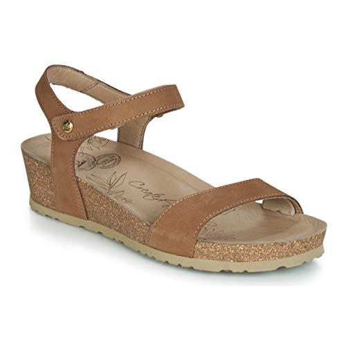 Panama Jack Capri Basics B3 Damen Sandalen, Sandaletten, Sommerschuhe Beige (Taupe), EU 36 -