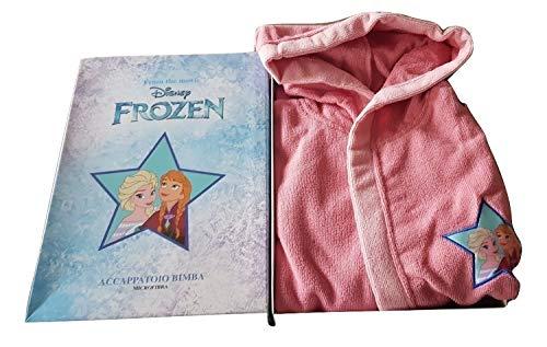 Sfiziosa Albornoz niña Frozen Microfibra Color Rosa