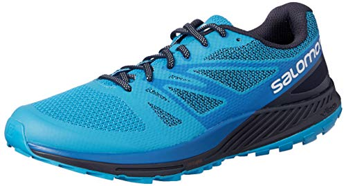 buy popular ec2f0 f4725 Salomon Mens Sense Escape Trail Running Shoes, Multicolour (Hawaiian  SurfSnorkel Blue