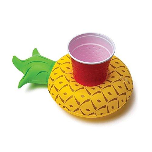 (Aufblasbare Getränkehalter, Pineapple Inflatable Pool Coasters, Aufblasbares Flaschenhalter Badespielzeug Pool Untersetzer für Bier Getränke Saft, Pool Party Beach Festival Urlaub Geburtstag Halloween Weihnachten)