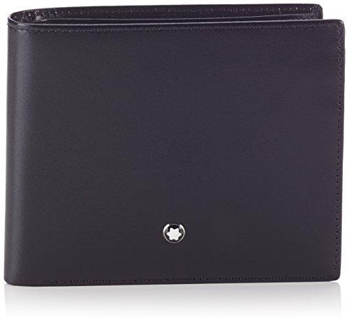 Montblanc MEISTERSTÜCK BRIEFTASCHE No. 05524 5524 Unisex - Erwachsene Portemonnaies, na schwarz (na)