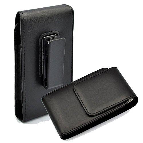 PU Leder Vertikal Executive Gürtelclip Tasche für iPhone 8 / Samsung Galaxy J2 / Sonim XP8 / LG Zone 4 / LG K8 2018 / LG Aristo 2 / Sony Xperia XZ2 Compact/Nokia 1 / BLU Studio JM8 LTE Executive Leder-cell