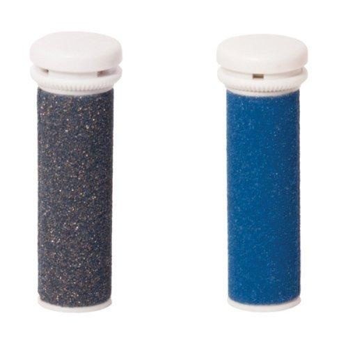 Silk'n Micro Pedi Refills, Hornhautentferner Nachfüll-Rollen, Medium und Grob, Blau/Gold, MPSR2PEU001 (Nano Für Die Füße)