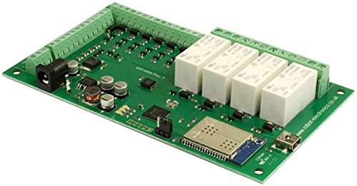 Usb Tcp-ip (Devantech - WIFI484-4 x 16A bei 24vdc WiFi-Relais 12V-DC TCP/IP-Interface USB Port)