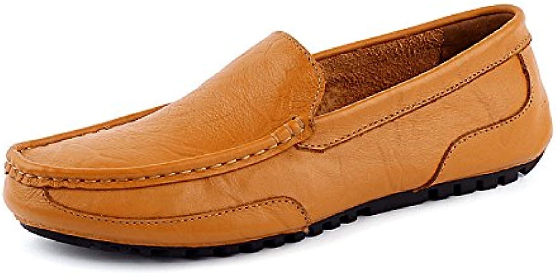 Beiläufige Lederne Schuhe der Männer Erhöhte Höhe Schuhe 6CM Frühlingsund HerbstGeschäftsSchuhe
