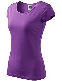 03a07b1bb7b707 T-Shirt für Damen Ladies Shirt Pure - Größe und Farbe ...