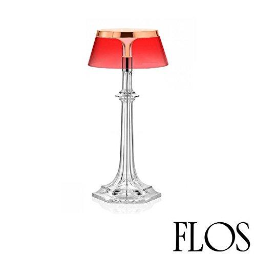 Flo 's Bon Jour Versailles pequeña lámpara de mesa LED cobre rojo f1042015F1036035diseño Philippe Starck 2017
