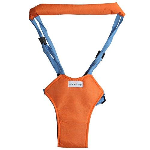 Orange Baby Moon Walk Walker Bouncer Jumper Toddler Help Learn Assistant Safety