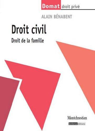 Droit civil : Droit de la famille