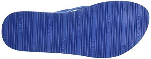 Tommy Hilfiger M1285ellie 8r, Sandales Bout Ouvert Femme Bleu (Riviera 415)