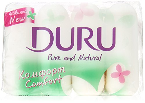 Duru Pure & Natural Seife Festseife Handseife Beauty Soap 4x85gr